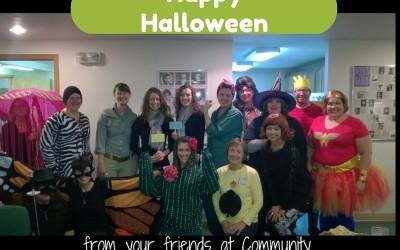 Happy Halloween from Community Partnerships!