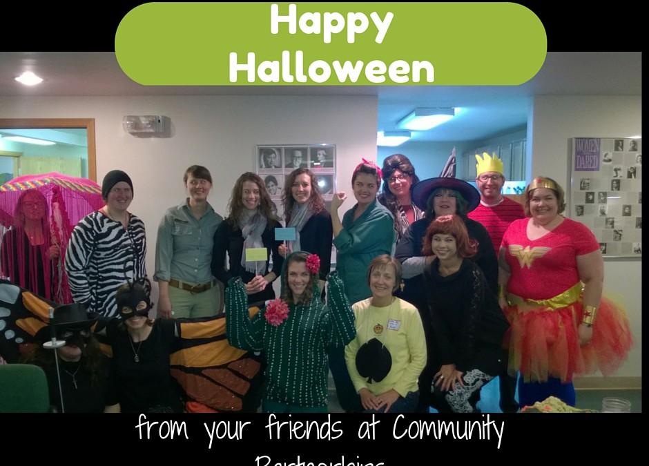 Happy Halloween from Community Partnerships!