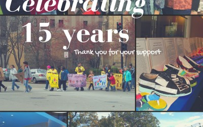 Help us celebrate 15 years in business!