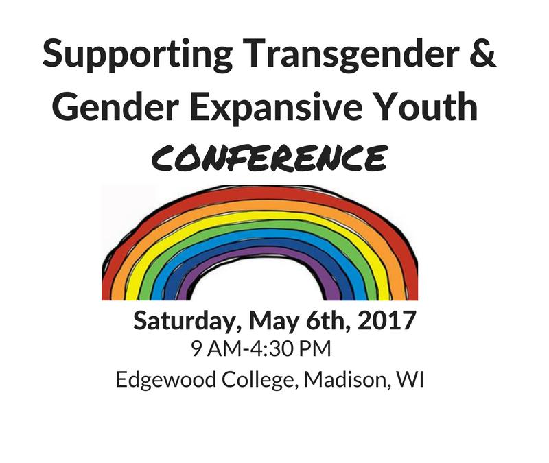 Register Now! Supporting Transgender & Gender Expansive Youth Conference