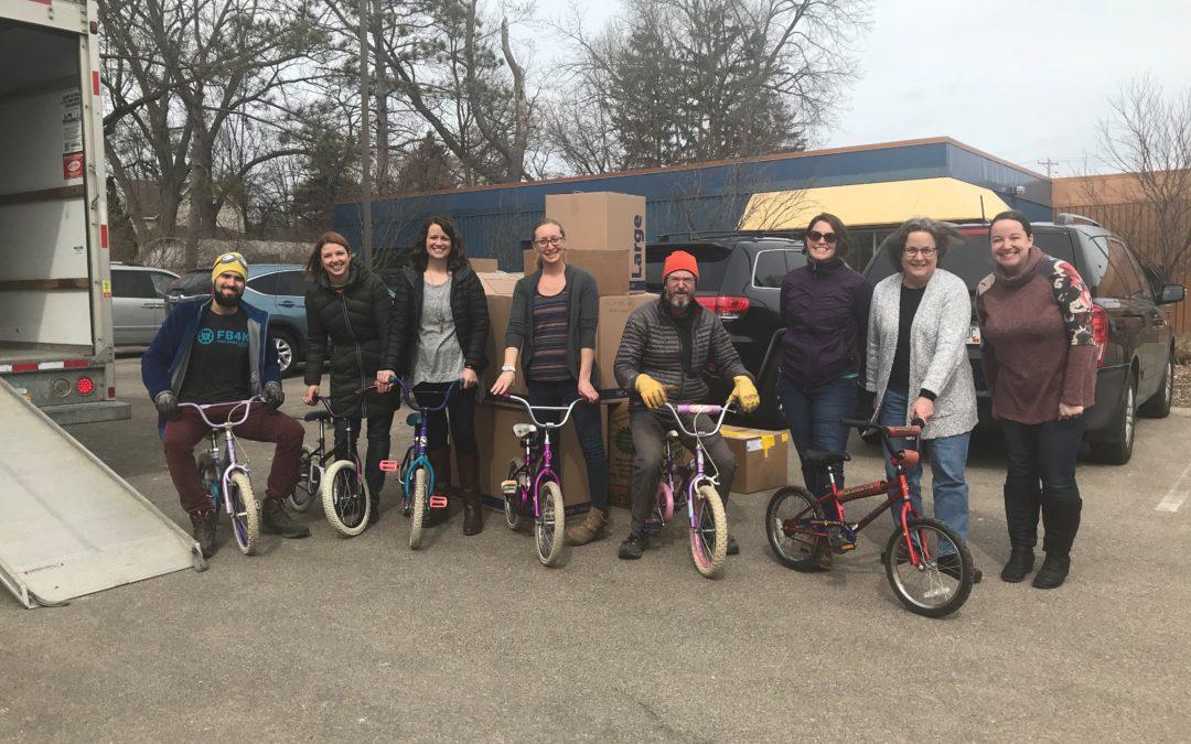 Free Bikes 4 Kidz Donates to RISE